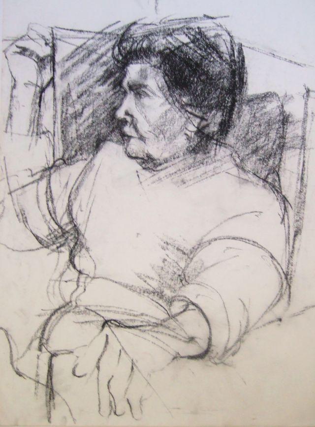 Portrait Mum Charcoal on paper.jpg